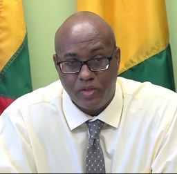 Permanent Secretary in the Ministry of Agriculture, Barrymore Felicien